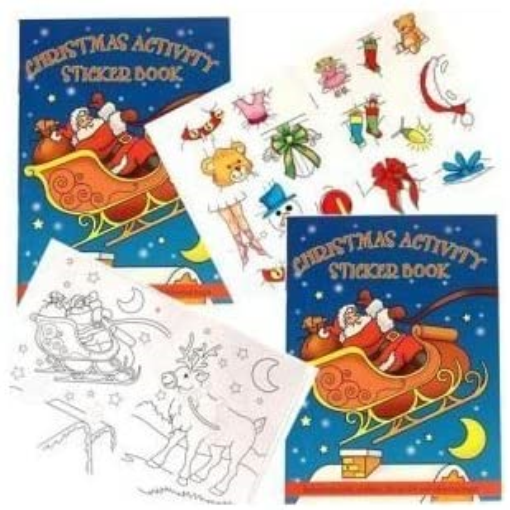 Childrens Christmas Stocking Filler - Christmas Sticker Activity Book
