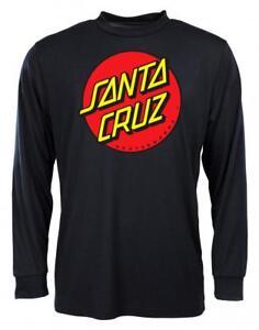 SANTA-CRUZ-CLASSIC-DOT-LONGSLEEVE-TEE-SHIRT-BLACK