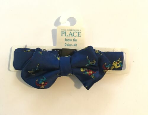 The Children/'s Place Bowtie Superheroes Winter Dogs Toddler Boy Size 24m-4T new