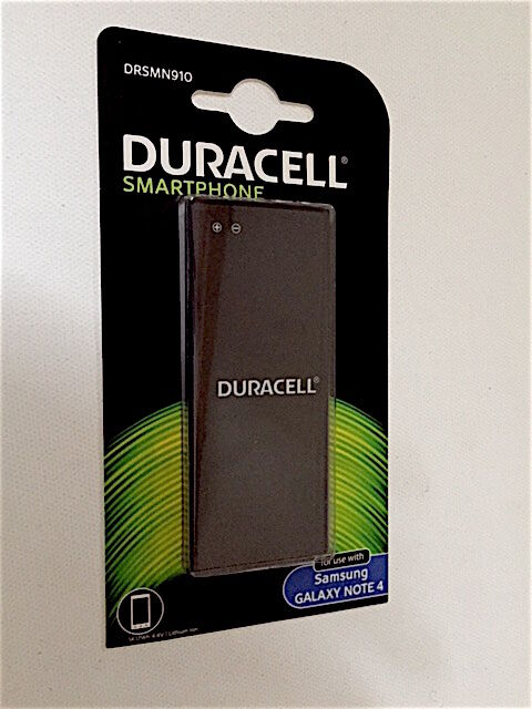 Duracell Replacement Battery for Samsung Galaxy Note 4 3220mAh