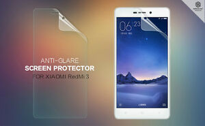 HOT-Nillkin-Anti-Glare-View-Matte-Phone-Screen-Protector-Film-For-XIAOMI-RedMi-3