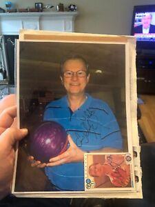 Ernie-Schlegel-92-signed-autograph-auto-1990-Kingpins-PBA-Bowling-Card-amp-Photo1
