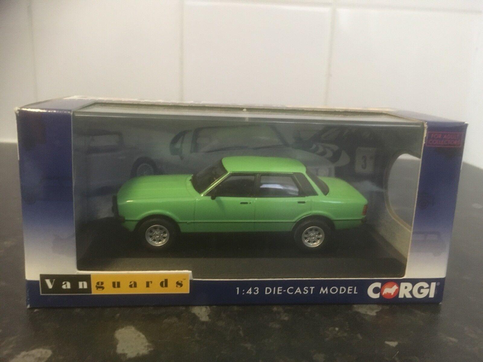 Vanguards Ford Cortina Mk4 3.0S Hierba verde Sudáfrica 1 43 MIB Ltd Ed VA11911