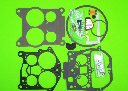Rochester Quadrajet Carburetor Rebuild Kit w Float Filter HD Pmp 70-74 Cadillac