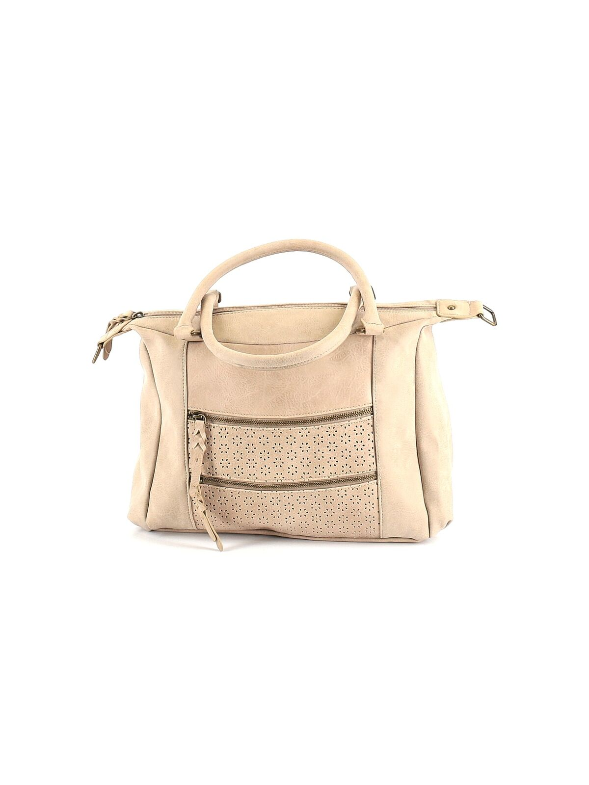 Style&Co Women Brown Satchel One Size