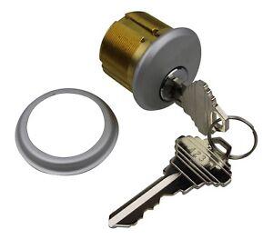 1 Screw In Round Thumb Turn Cylinder For Adams Rite Alpro Aluminium Doors