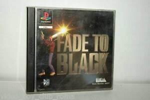 FADE-TO-BLACK-GIOCO-USATO-BUONO-SONY-PSX-PSONE-EDIZIONE-ITALIANA-PAL-FR1-37441