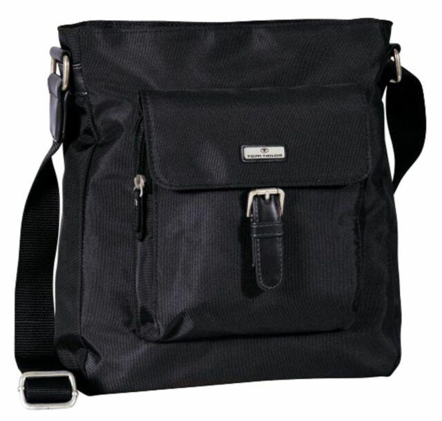 TOM TAILOR Rina Crossbag Tasche Umhängetasche Schultertasche Black Schwarz Neu