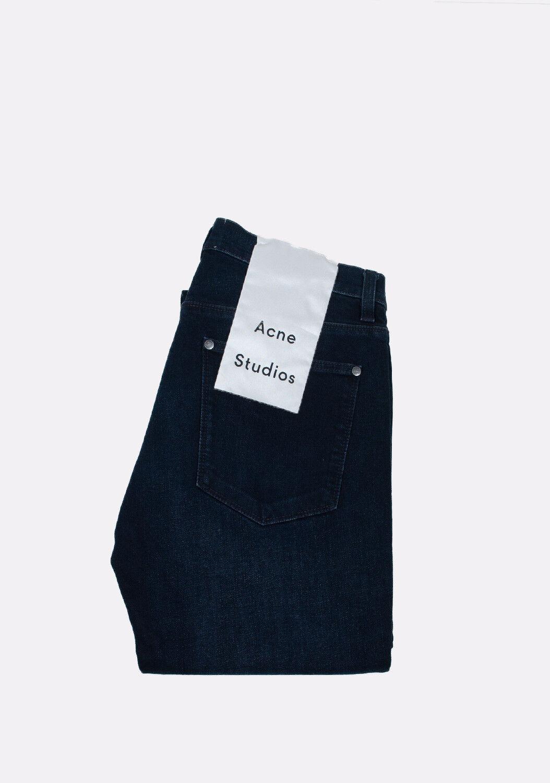 ACNE STUDIOS Max Groza Low Waist Slim Leg RRP 219 GB Dark bluee men Jeans 30 32