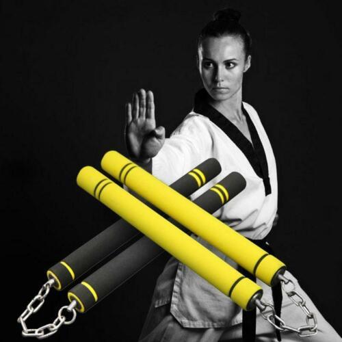 Martial Arts Nunchucks Bruce Lee Foam Nunchakus Nunchaku Kung Fu Practise S,L