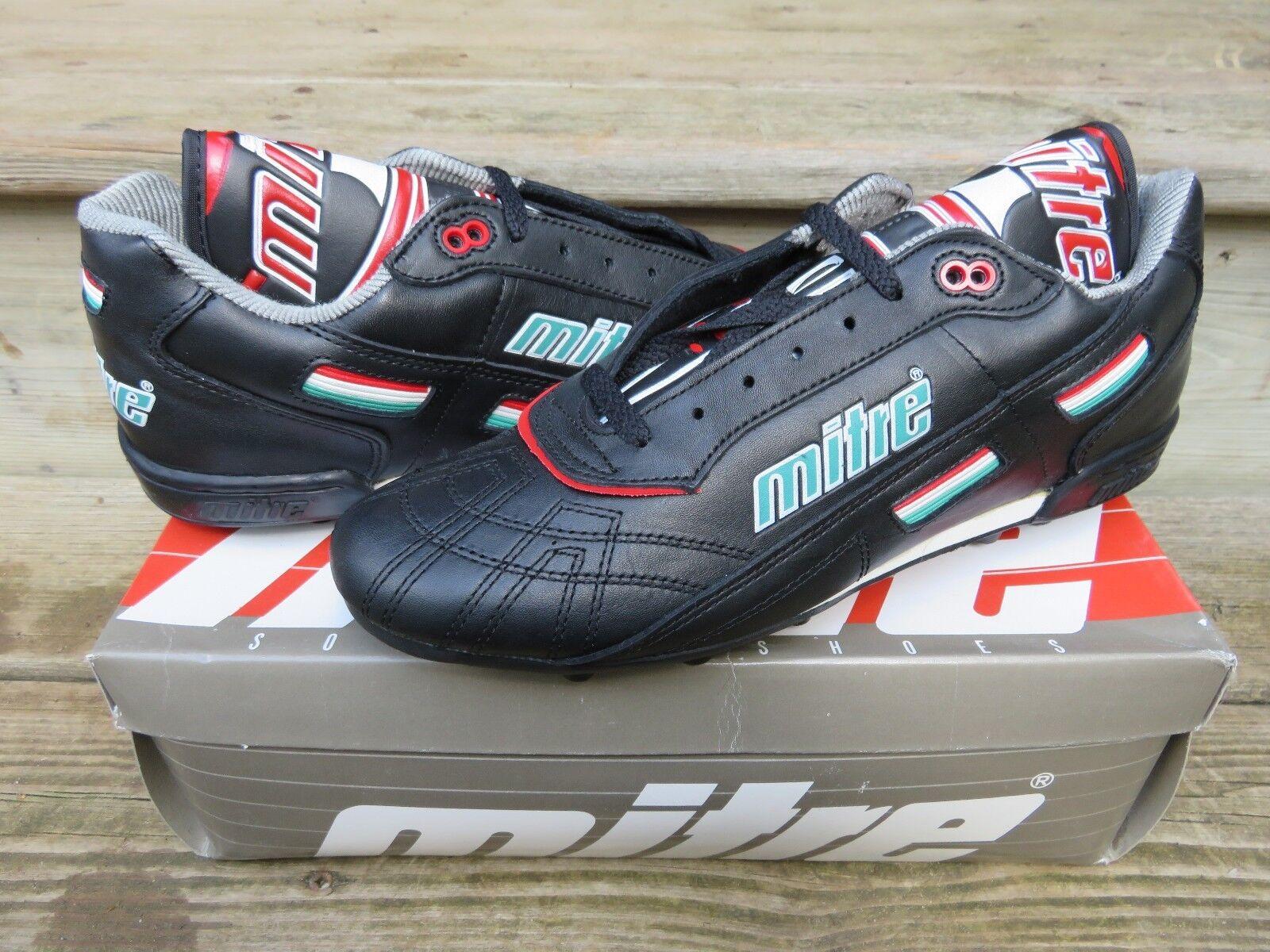 NOS Cleats Mitre Targa H.G. Soccer Größe 10 Athletic Outdoor Cleats NOS  Schuhes Vintage NEW 500c71
