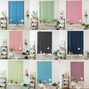 Self Adhesive Blinds Blackout Drapes Window Curtains Bedroom Shades Living Room Ebay