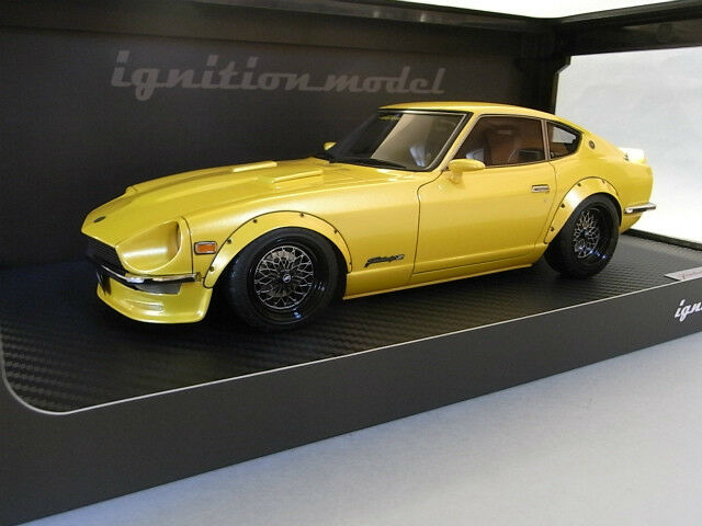 1 18 IG ignition  IG0650 Nissan Fairlady Z (S30) Yellow