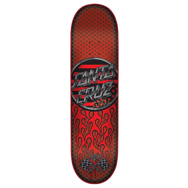 Tavola da Skateboard Professionale Santa Cruz Jessee Pearl V8 Pro 8.5'' + Grip
