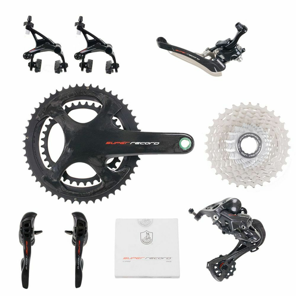 Campagnolo  SUPER RECORD 12 speed Groupset - 172.5 mm 39-53  credit guarantee