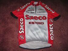 SAECO ESTRO PITTI SHOES F. MOSER GIESSEGI ITALIAN CYCLING JERSEY [S/3]