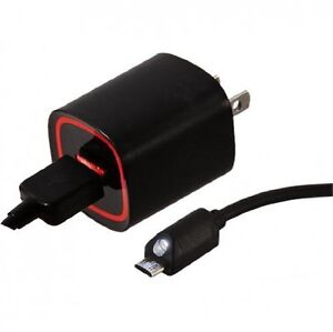 Verizon Wall Charger With 6 Ft Cable And Led Light For