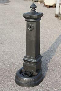 Fontane In Ghisa.Dettagli Su Fontana In Ghisa Alta H 125 Cm Da Giardino Modello Milano No Cemento No Marmo