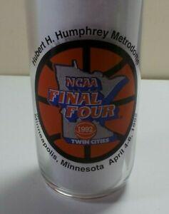 Vintage-1992-NCAA-Final-Four-Coca-Cola-16-Oz-Glass-Metrodome-Minneapolis-Duke
