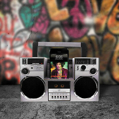 Build Your Own Boombox Speaker DIY Retro Smartphone Amplifier Music Stereo