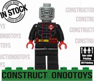 Hush lego Custom PAD UV PRINTED Minifigure