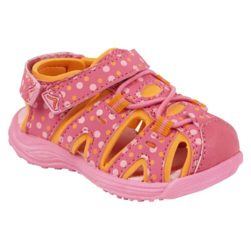 WonderKids Girls Toddler Beth Sandal-Style 11278-Pink//Orange  83I kl New