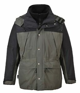 Portwest S532 Orkney 3 in 1 Breathable Jacket Waterproof Breathable Nylon Shell