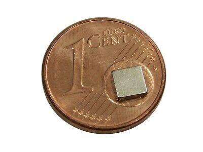 20 Stück Neodym Quadrat  Magnete  5 x 5 x 2 mm  Powermagnet für Reedkontakte