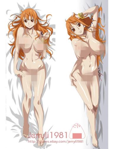 "150x50 ONE PIECE(ワンピース)Nami Anime Dakimakura PillowCase Hugging Body cover 59/"""