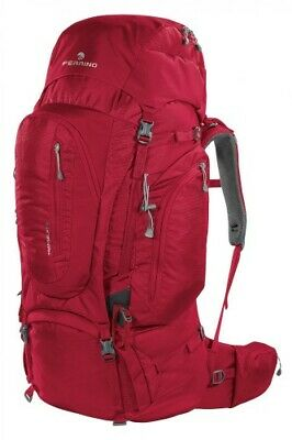 100% Kwaliteit Zaino Viaggio Trekking Transalp 100 Rosso Ferrino - Dorso Regolabile In Altezza Elegant In Stijl