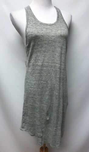 Community Womens Size Small Dress Gray Linen Racer