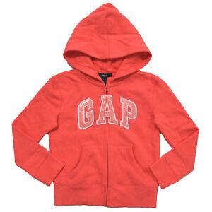 Gap Sweat à Capuche Enfants Filles Fermeture Éclair Sweat