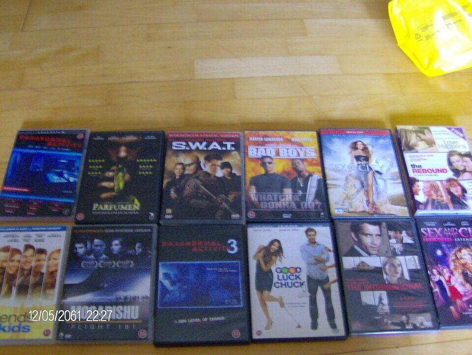 Blandet titler , DVD, andet