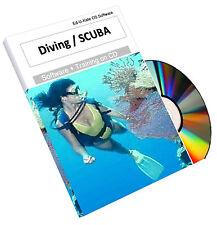 Scuba Diving Diver Dive Mask Fins Training Course Book