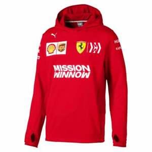 Puma Heren Tech Rood Scuderia Fleece Ferrari Team 8zqxBw8O