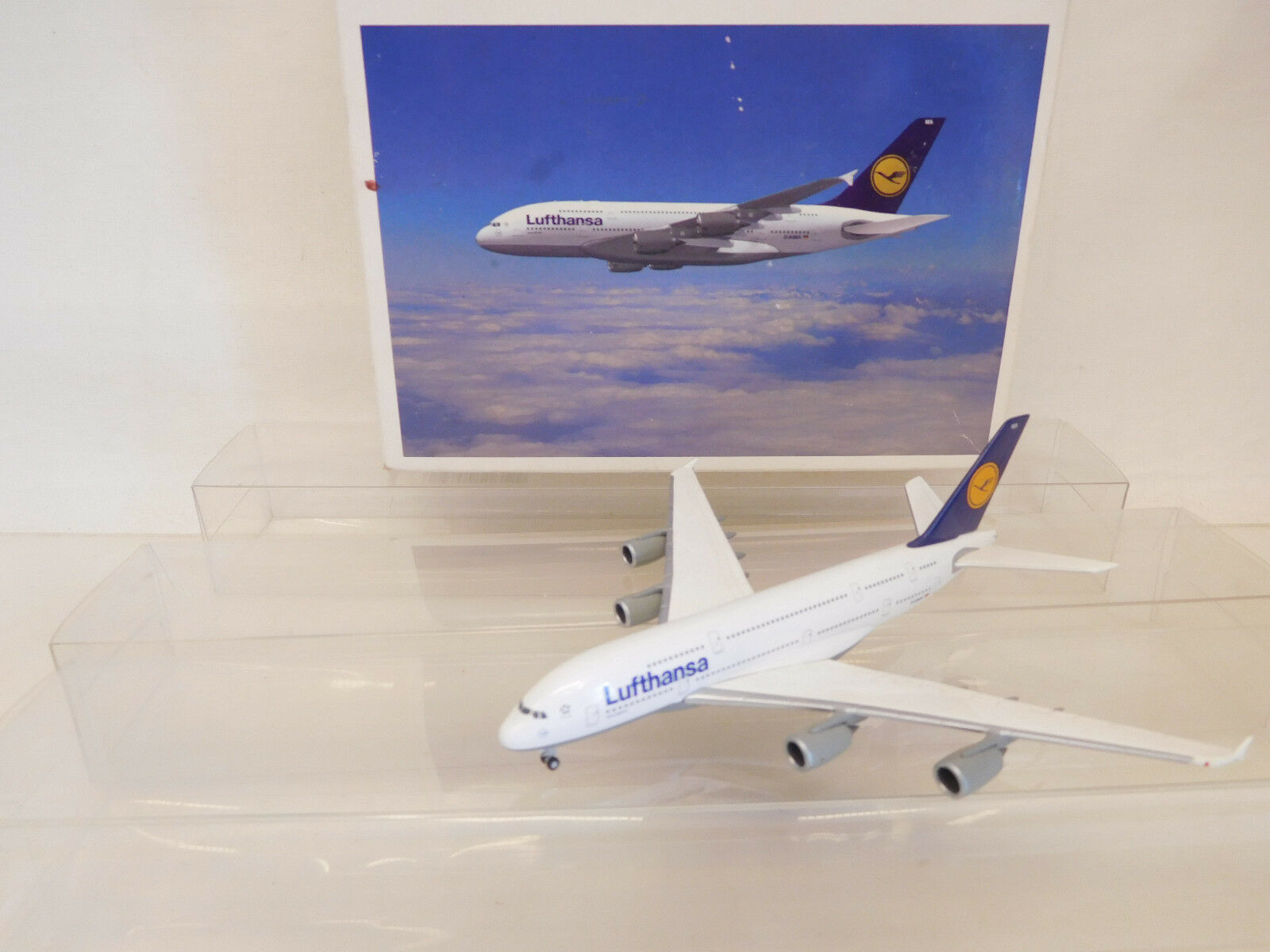 Mes-58817 Herpa Airbus a380-800 Lufthansa, 1/500, ottime condizioni