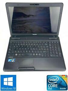 Toshiba Satellite Pro C660 - 500GB HDD, Intel Core2 Duo T6670, 4GB RAM - Win 10
