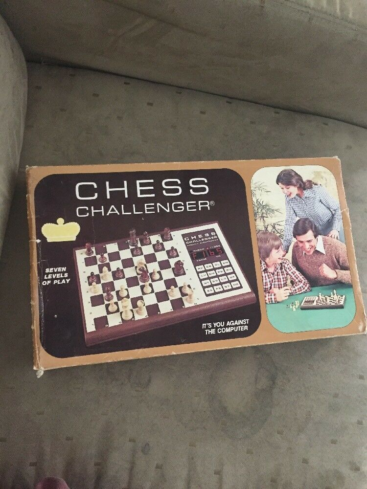 Fidelity Chess challenger 7 BCC electronic chess set game Tested