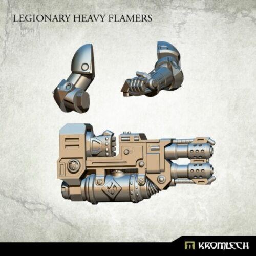 SPACE MARINES Legionary heavy flamers NEW Kromlech devastator Weapon flamer
