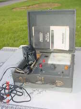 Vintage Mercury Electronics 800 CRT Tester Reactivator Television Tube Radio Lab
