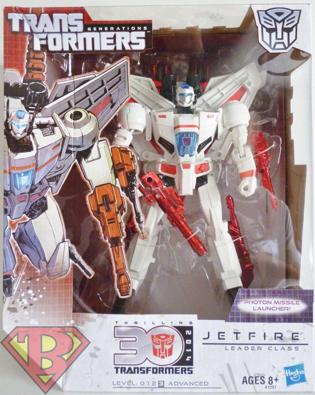 JETFIRE Transformers Generations 30th Anniversary Leader Class Autobot 2014