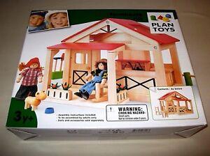 PLANTOYS 7158 Farmhouse Farm Haus  Bauernhaus Holz NEU OVP