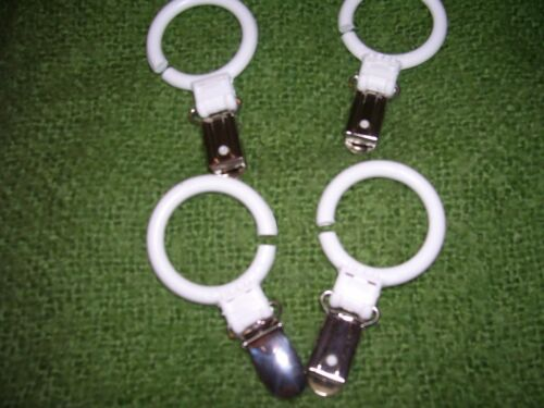cot blanket clips brand new made by ROTHO baby design 4 pieces in bubble pack