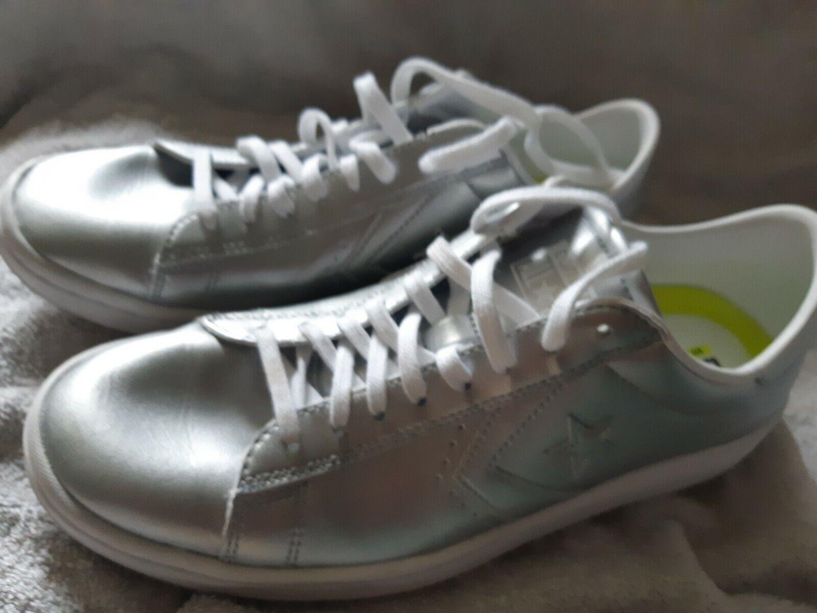 Nuova Conversazione Chuck Taylor All Star Low  Glitter argento donna 9  il prezzo più basso
