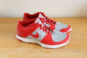 outlet store sale 4a663 6a112 Details about Nike Men's FS Lite Fit Sole Trainer Running Shoes Size 11 Red  Grey 615972-013