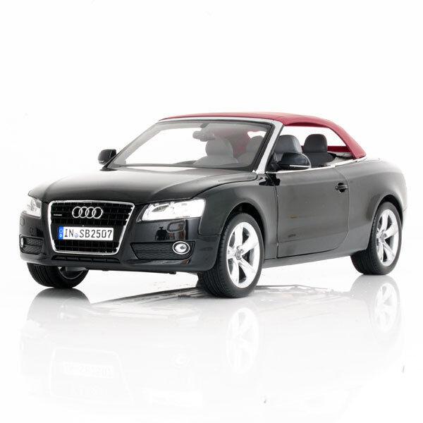 Norev 2009 Audi A5 Converdeible nero Brillante 1 18 bonito Audi