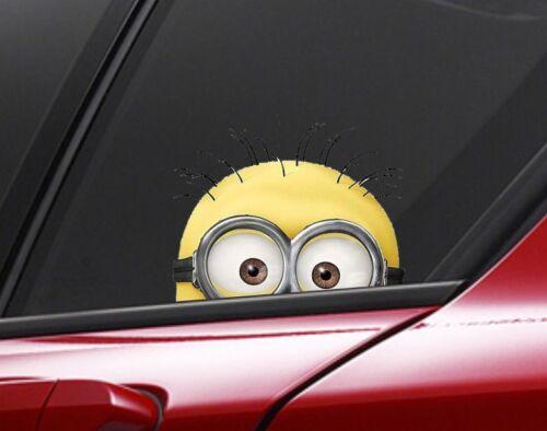 Van//Bumper//Window Vinyl Decal Sticker DUB MINION car decal Funny Car