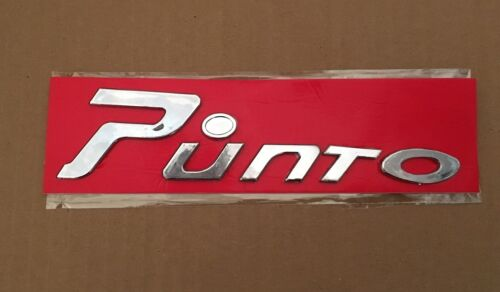 BRAND NEW FIAT Grande PUNTO EVO BADGE STICKY BACK