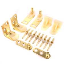 Brass Plated, Pack of 2 Prime-Line Products N 6936 Bi-Fold Door Hinge