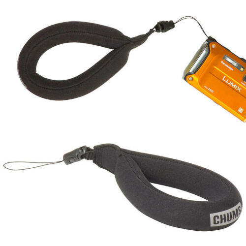 CHUMS waterproof camera wrist strap float cell phone case floating BLACK 30046